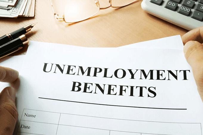 An umnemployment benefit form