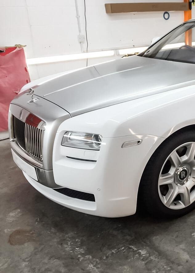 Rolls Royce Ghost Vinyl Wrapping