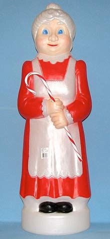 Mrs. Claus With Cane photo