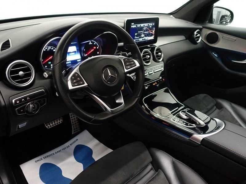 Mercedes-Benz GLC 250D 4MATIC 204pk 9G-Tronic AMG Edition- Panodak, Leer, Navi, Camera afbeelding 14