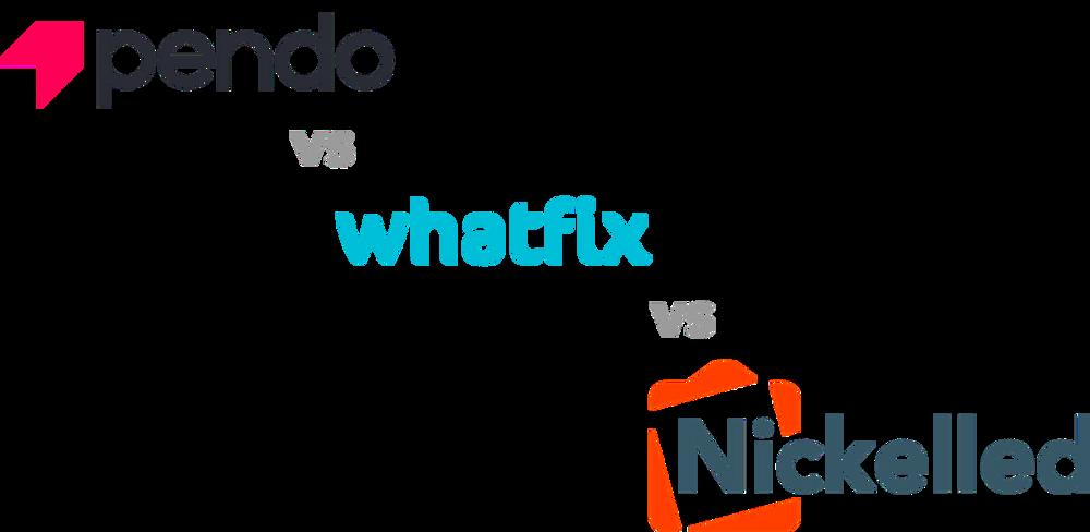 Pendo vs Whatfix