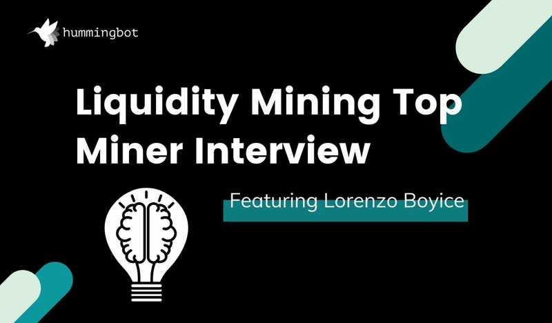 Top liquidity miner interview featuring Lorenzo Boyice