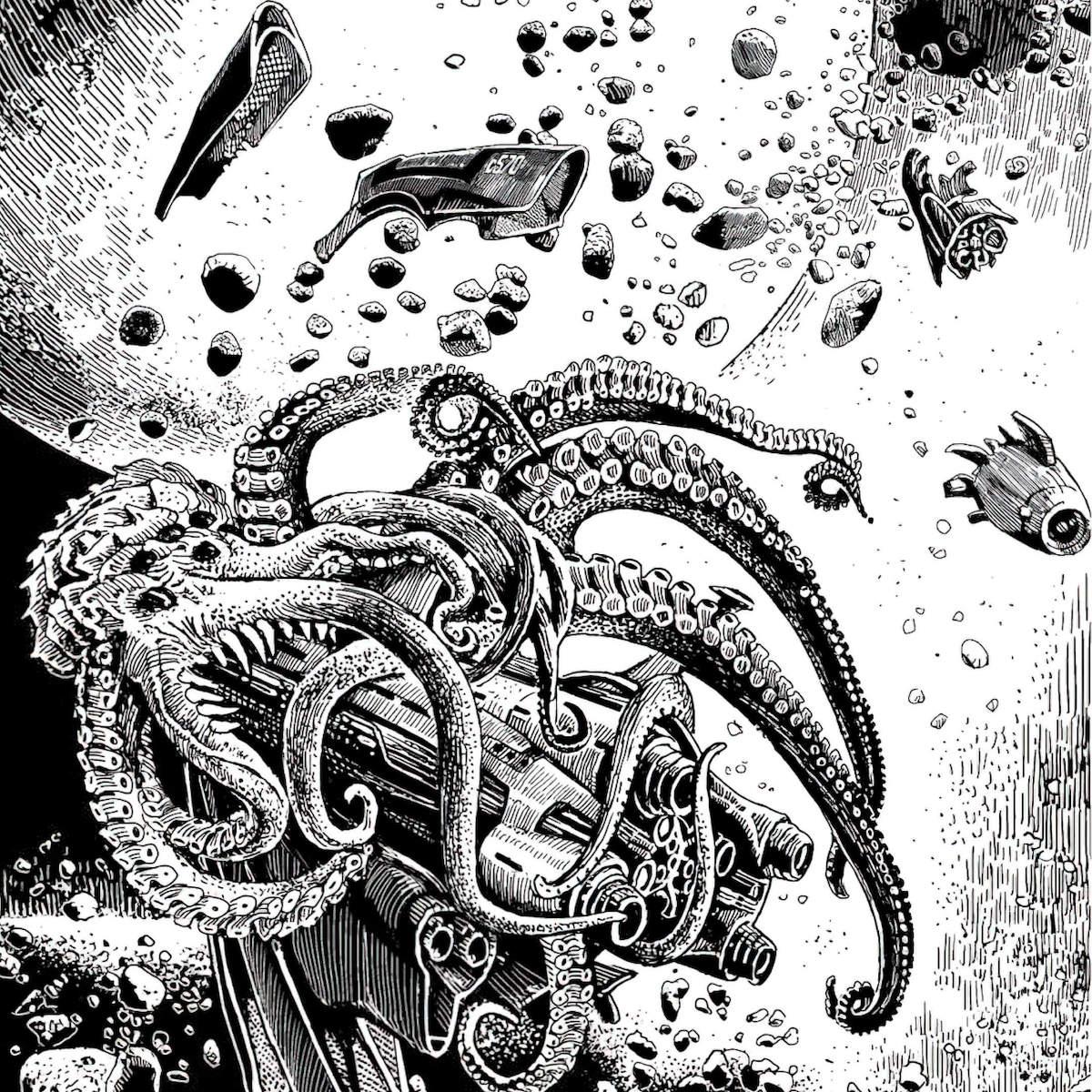 Иллюстрация изкниги «Корабль отплывает вполночь». Художник: Сергей Григорьев