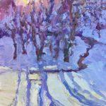 Snow Shadows 10x8