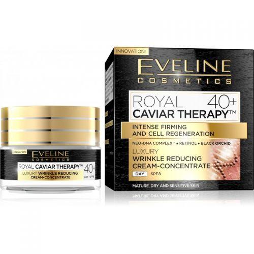 EVELINE ROYAL CAVIAR THERAPY 40+ LUXUS RÁNCTALANÍTÓ KRÉM-KONCENTRÁTUM ARCRA 50 ml | Eveline Cosmetics