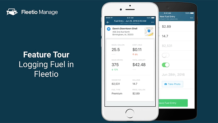 Fuel entries feature tour thumb