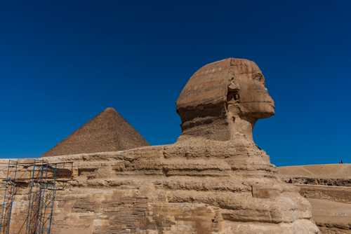 Great Sphinx of Giza (أبو الهول‎)
