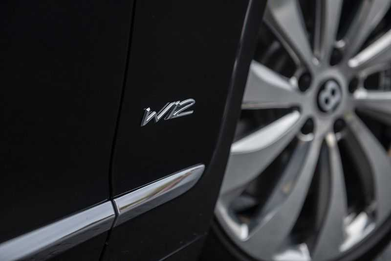 Bentley Flying Spur 6.0 W12 FIRST EDITION MY 2021 NAIM + Mulliner + Touring Spec + Head-Up + Bentley Rotating Display + Onyx Pearl / Beluga + Full Option + afbeelding 9