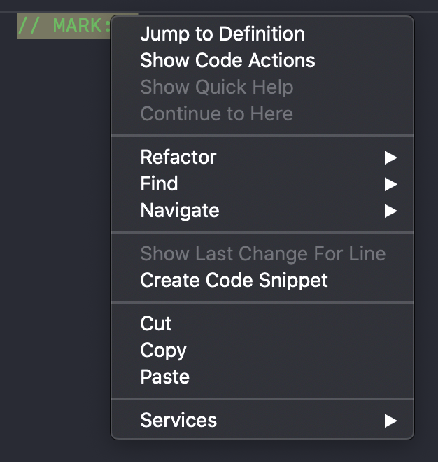 Create code snippet