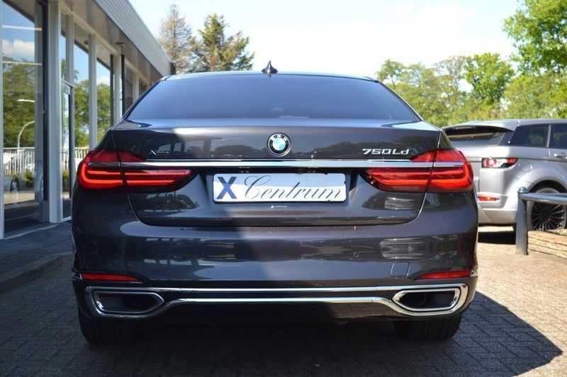 BMW 7 Serie 750Ld xDrive Ex. Lounge Pakket B*W afbeelding 3