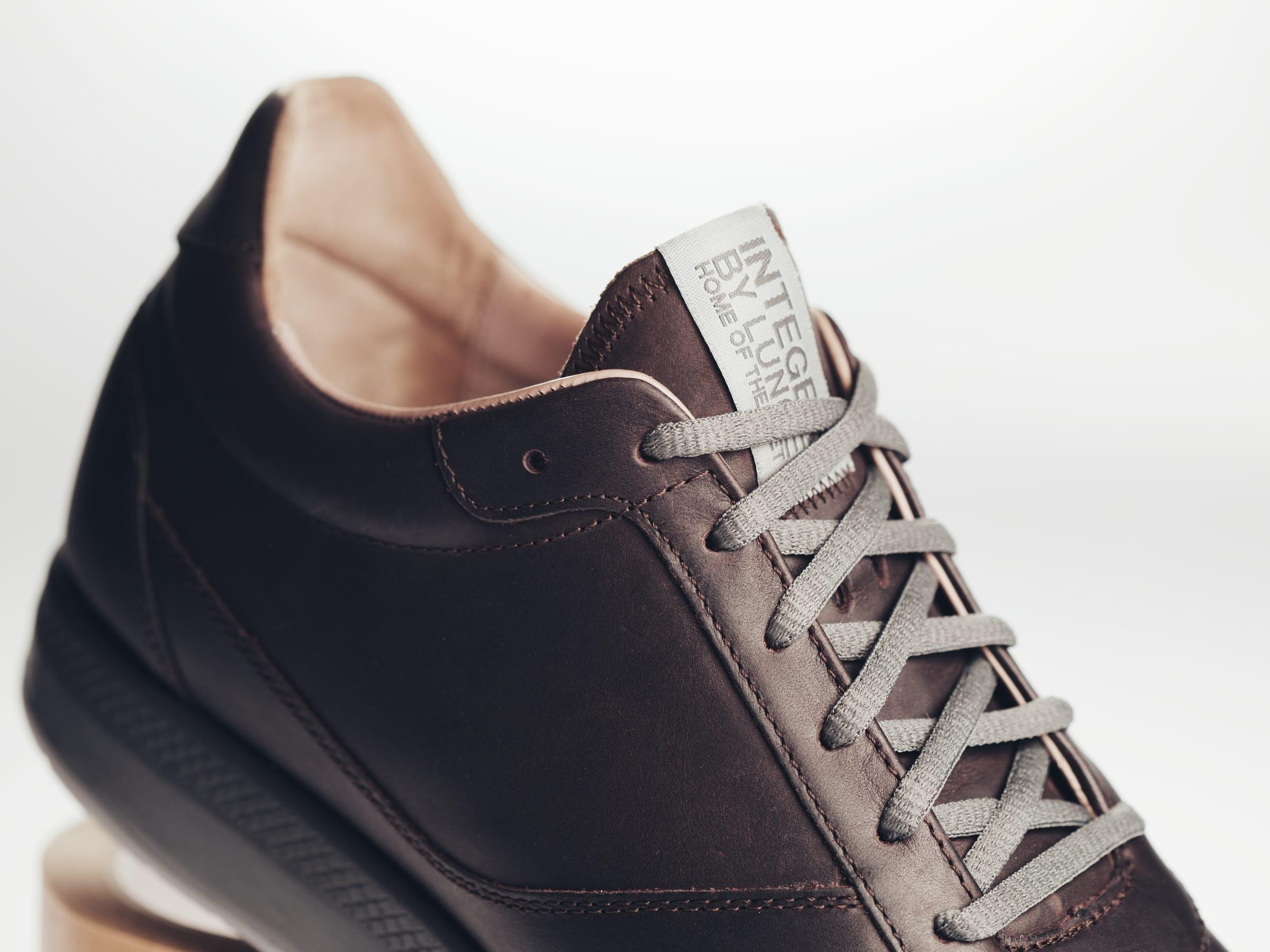 Integer Walk Rebound Leder (Espresso/Gray)