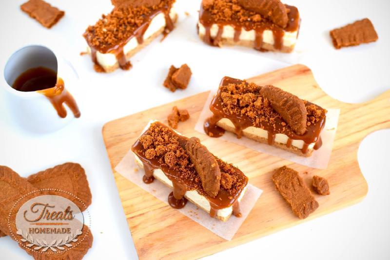 No-Bake Lotus Biscoff Cheesecake