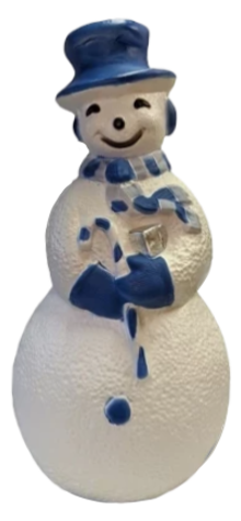 Cool Blue Snowman photo