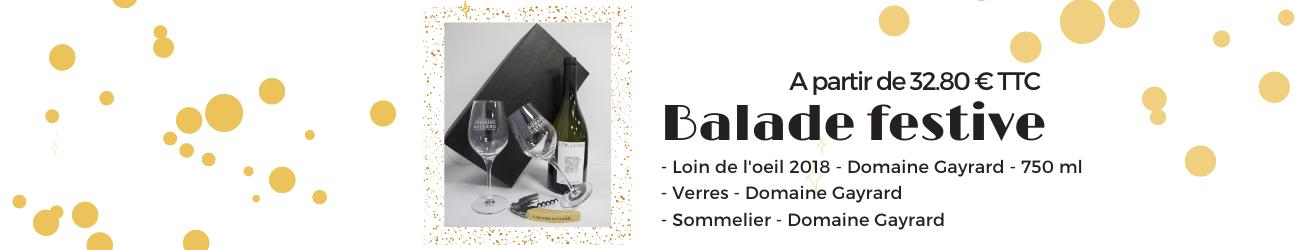 Coffret festif Domaine Gayrard Vin bio de Gaillac