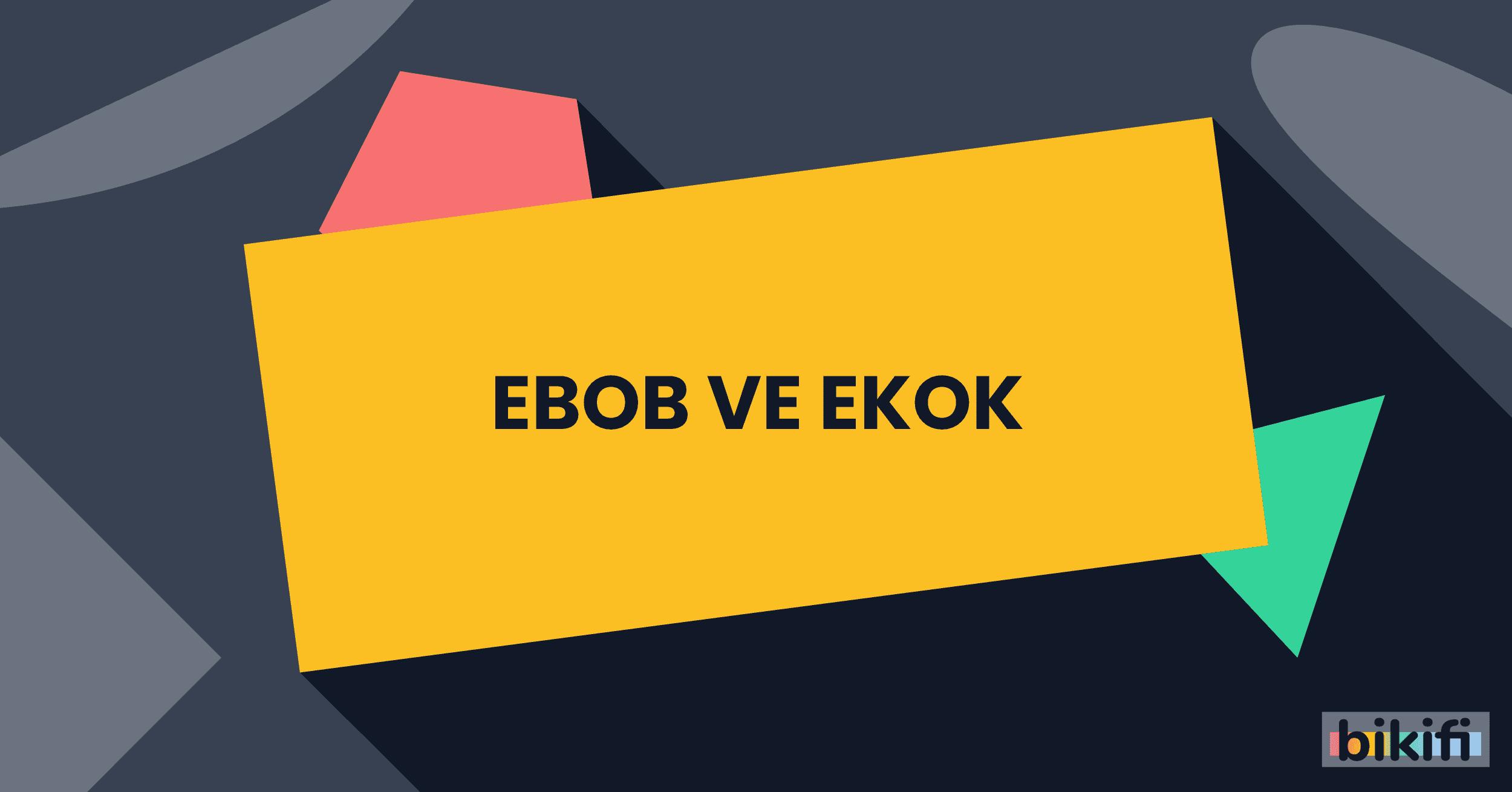 EBOB ve EKOK