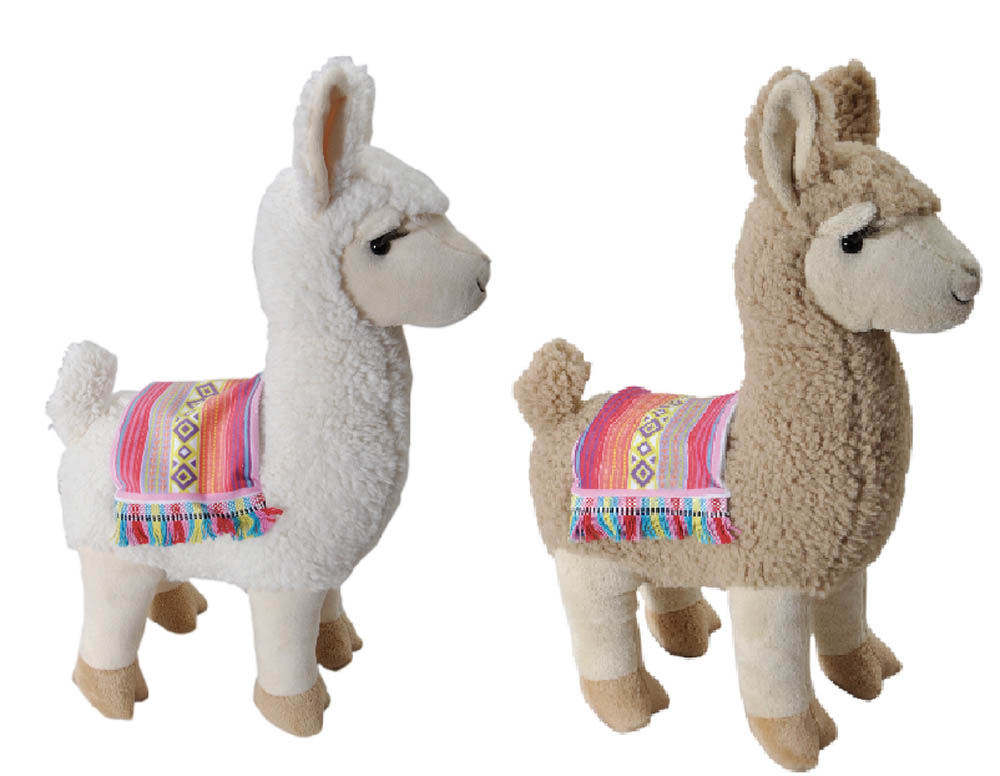 "The Petting Zoo: 15"" Festive Lllama Assortment"