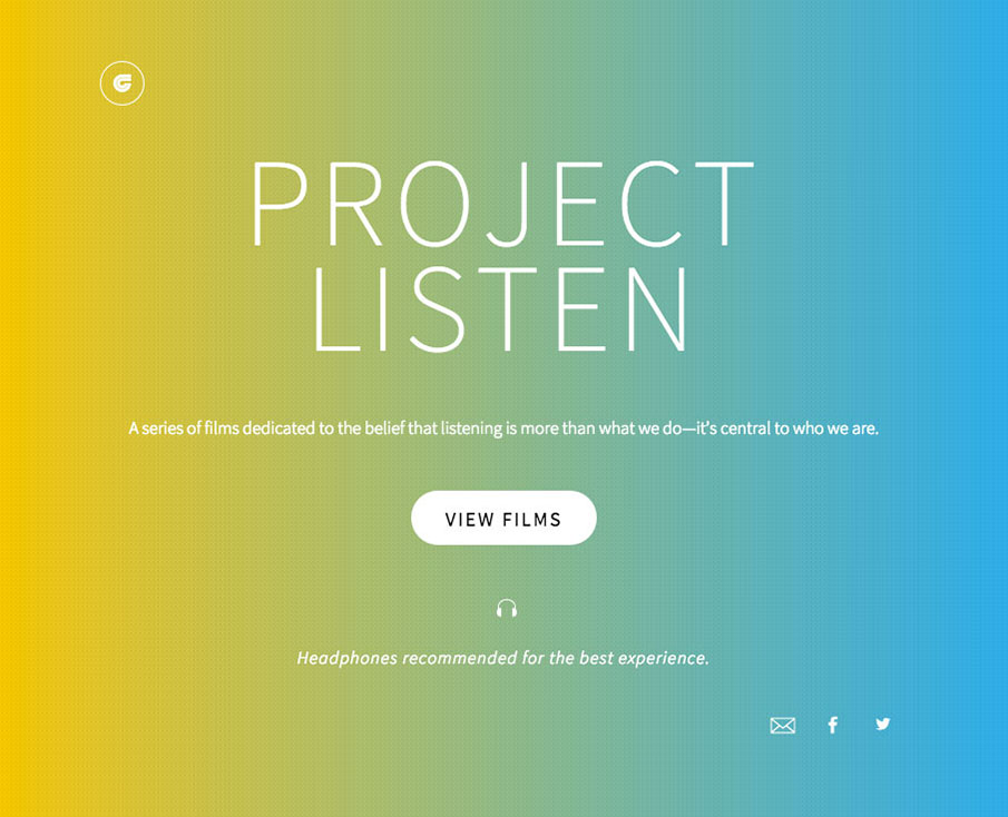 Ken Garff Project Listen Homepage