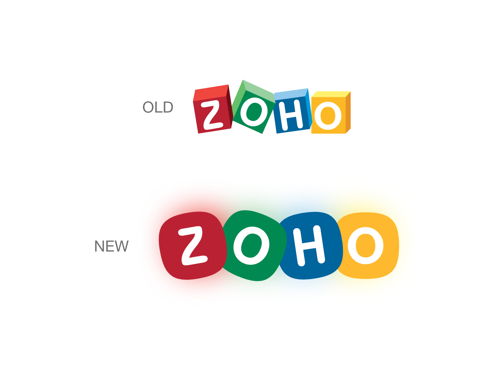 Zoho logo redesign