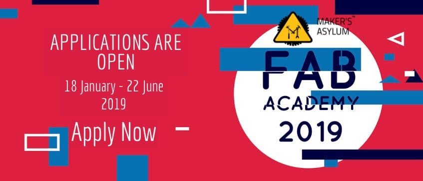 Applications are open for Fab Academy