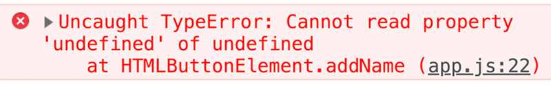 """this leading to an """"undefined"""" error"""