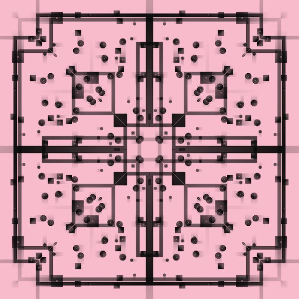 Wanderlust mint #10142 - Black Sakura