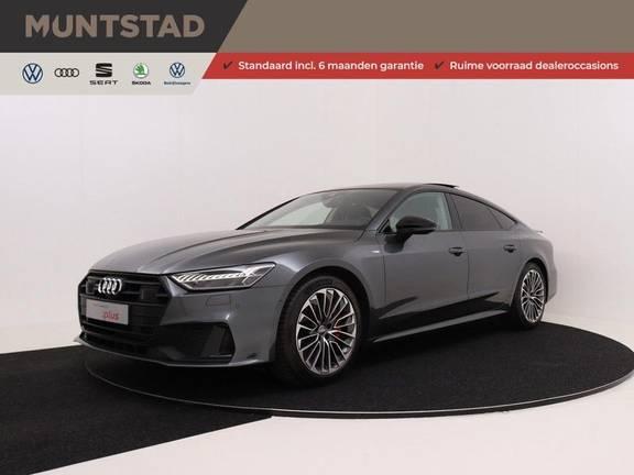 Audi A7 Sportback 55 TFSI e quattro Pro Line | 2 x S-Line | 367PK | Plug in Hybrid | Adapt. Cruise | Pano.Dak | Keyless-entry | Head-Up | 360-Camera | Trekhaak | B&O Sound