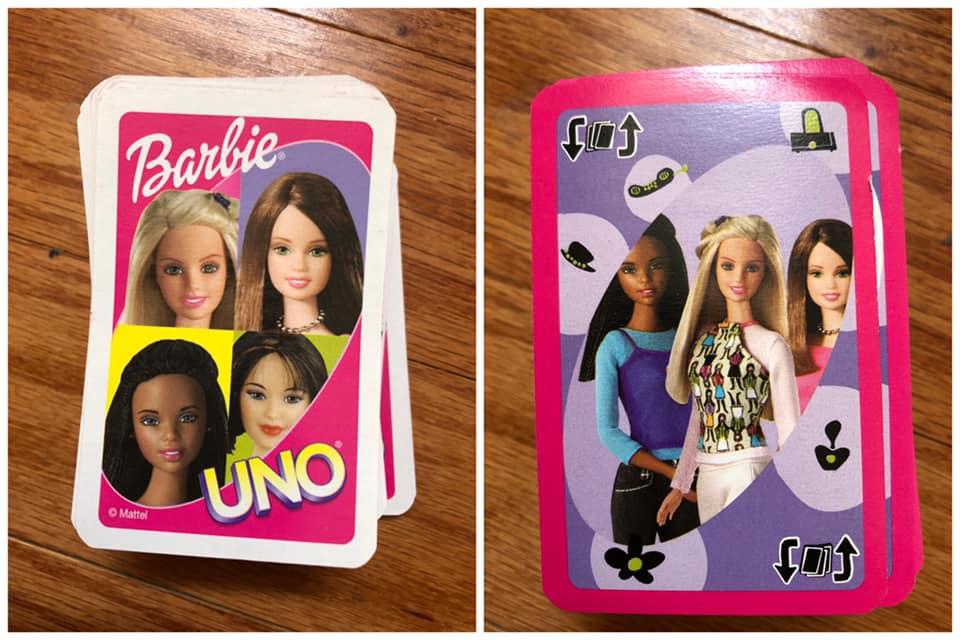 Barbie Uno Card Game