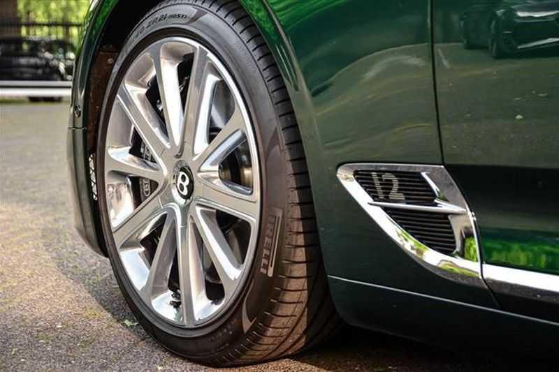 Bentley Continental GT W12 MULLINER MASSAGE+HEADUP+TOPVIEW afbeelding 13