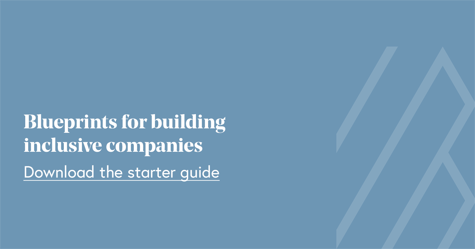 Blueprints for building inclusive companies