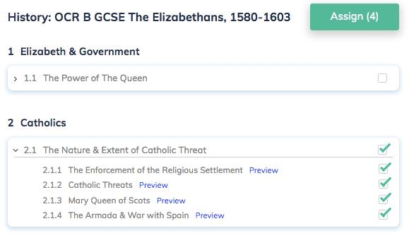 History: OCR B GCSE The Elizabethans, 1580-1603