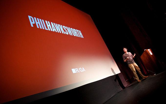 Phil Hawksworth's speaking