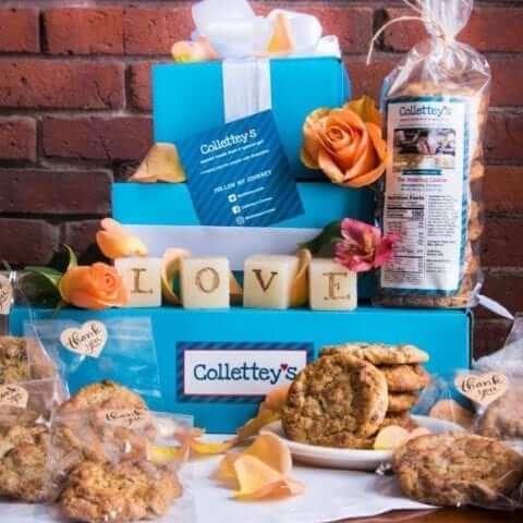 Photo of beautiful cookie packages