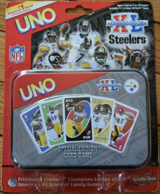 Pittsburgh Steelers Uno: Super Bowl XL