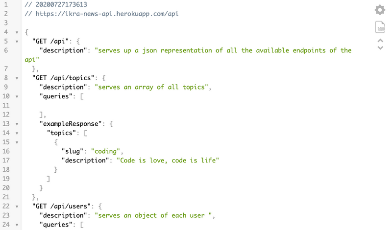 image of The Pen Post API server