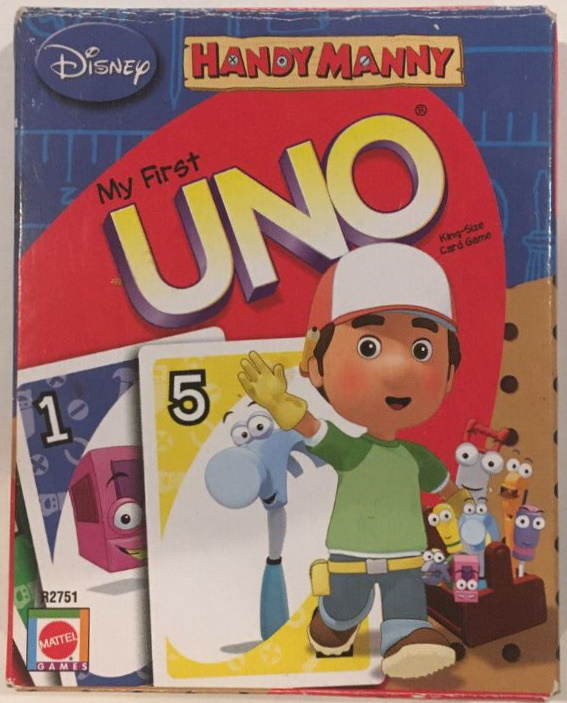 Handy Manny My First Uno