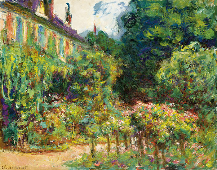 Claude Monet, The Artist's House at Giverny, 1913