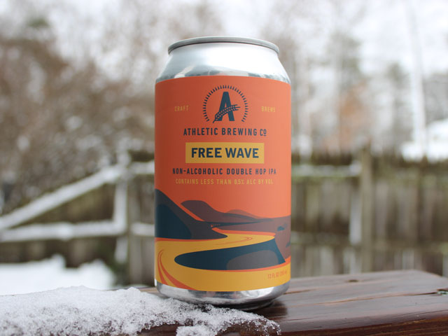 Run Wild, is an IPA brewed by Athletic Brewing Company