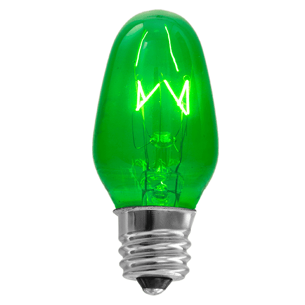 15 Watt Light Bulb - Green