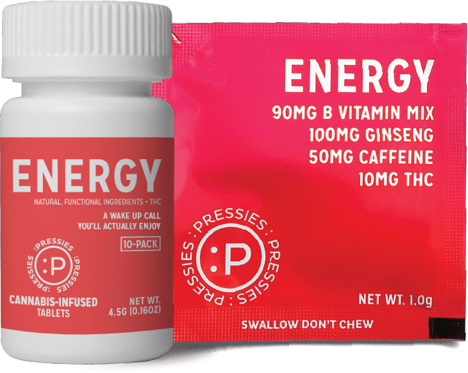 Pressie Energy Single Serve - Pressie 10 Pack