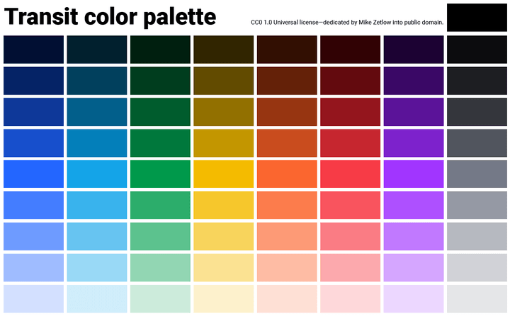 transit how to design colors for your app with adobe illustrator plus 3 free palettes