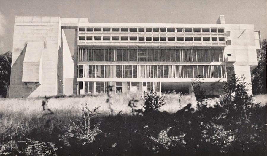 Xenakis facade drawings