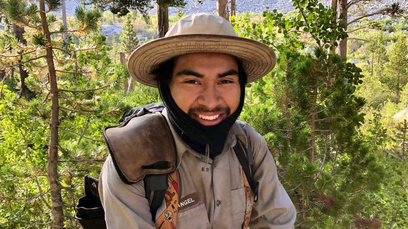 trail maintainer Camilo Angel