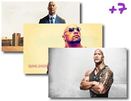 Dwayne Johnson theme pack