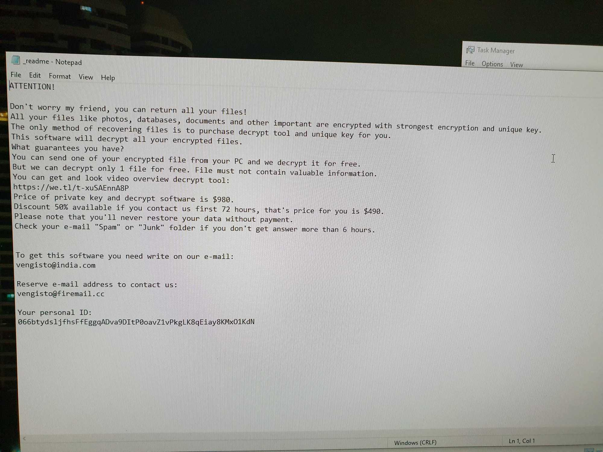 Readme from Ransomer
