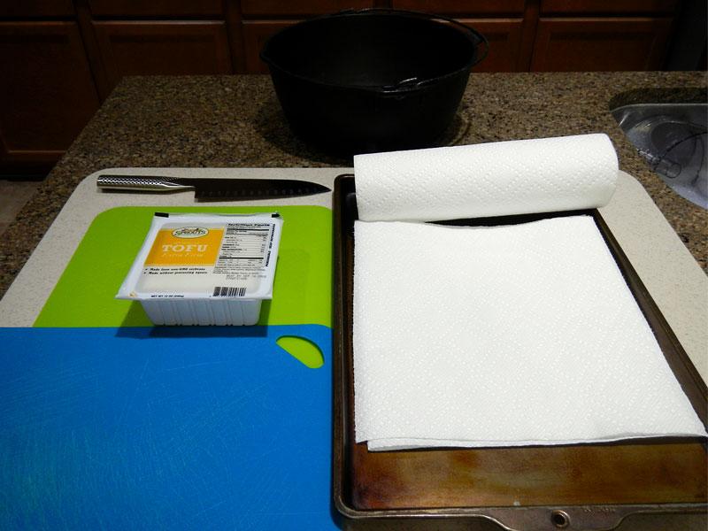 Pressing Tofu: Setup