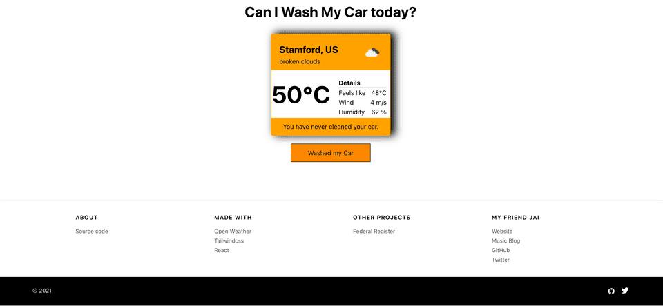 Can I Wash My Car
