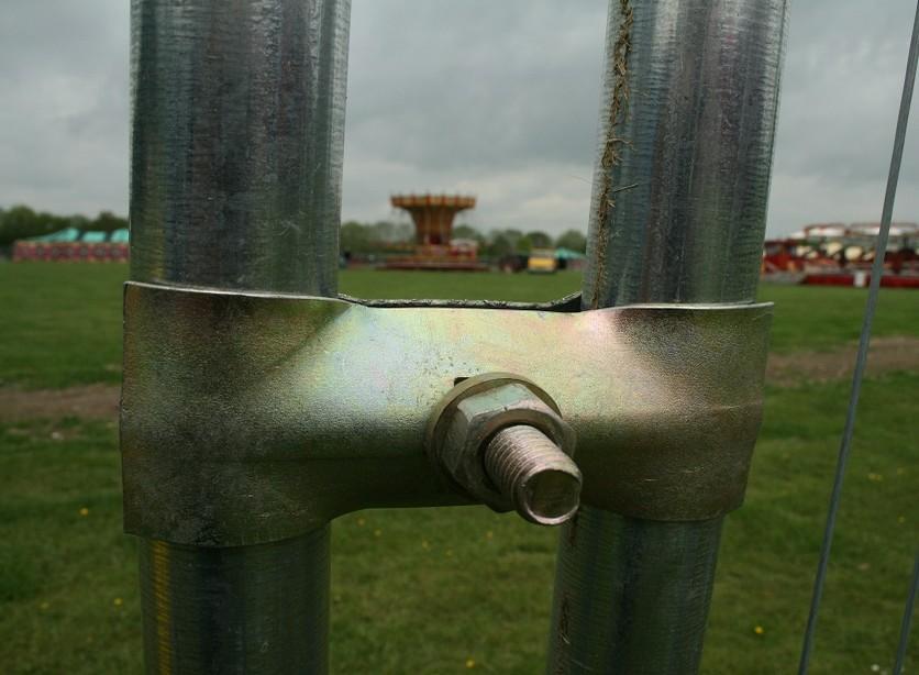 Heras fencing coupler