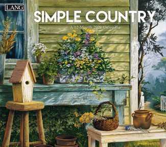 Lang 2021 Calendar Simple Country