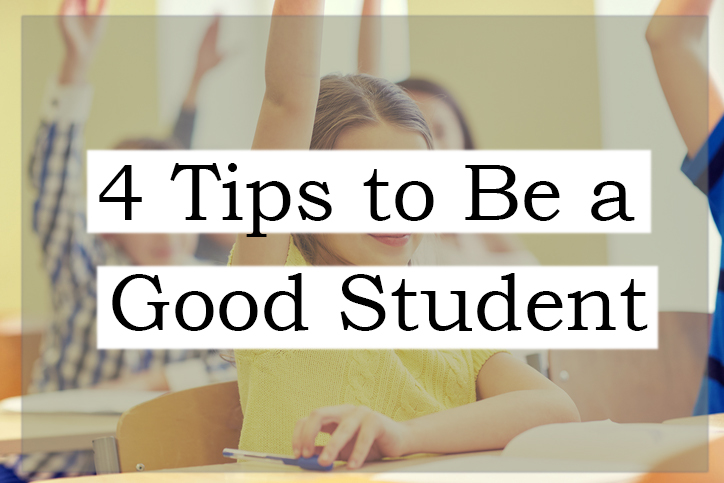 4 Tips to be a good student Logo