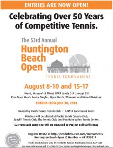 2014 HB USA Open Tennis Tournament